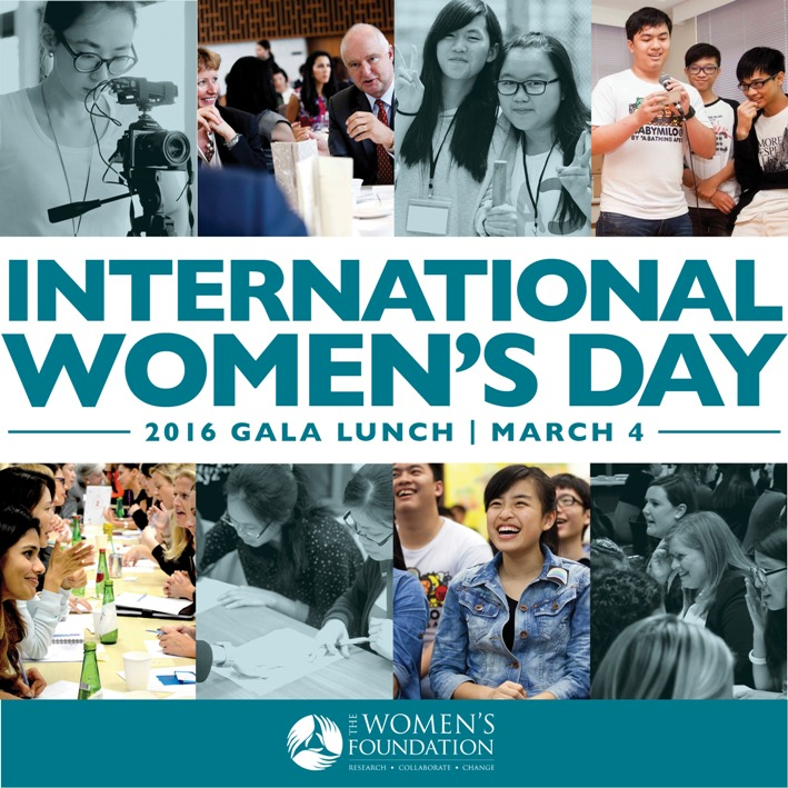 International Women's Day Gala Lunch by The Women's Foundation