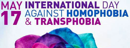 Poster on the International Day Against Homophobia & Transphobia 2014