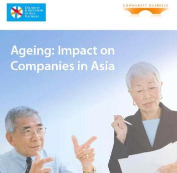 Cover Page of the Report Ageing: Impacts on Companies in Asia