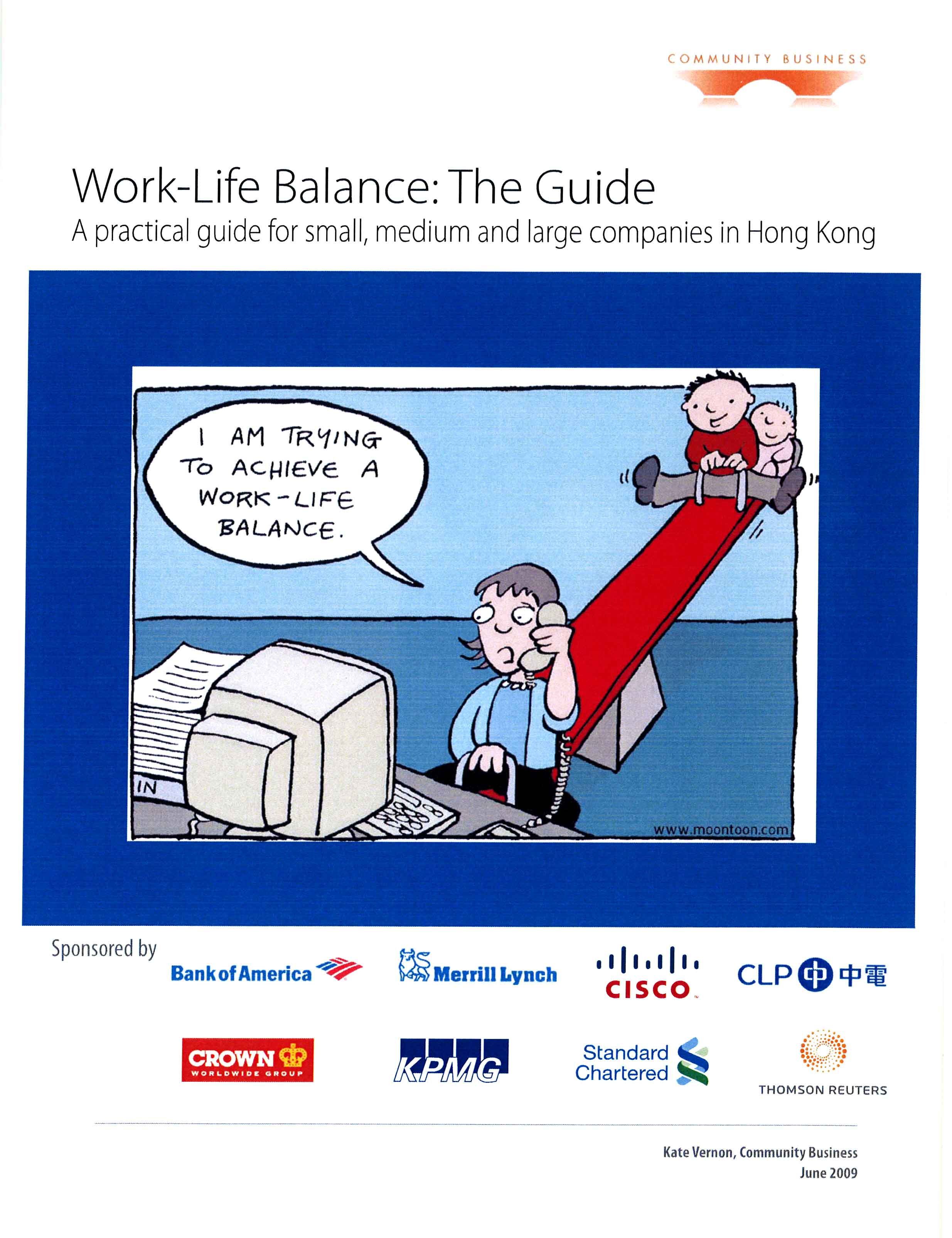 "Cover page of ""Work-life Balance: The Guide"""