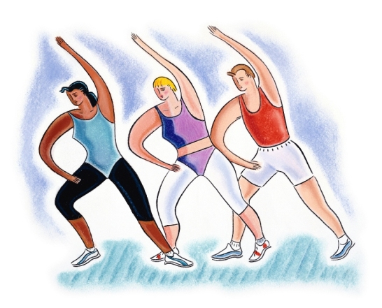 Men and Women in Exercise
