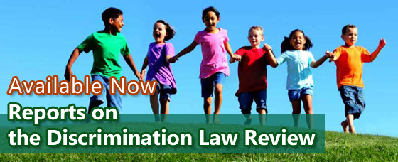 Reports on the Discrimination Law Review Available Now