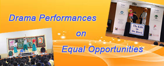 Drama Performances on Equal Opportunities